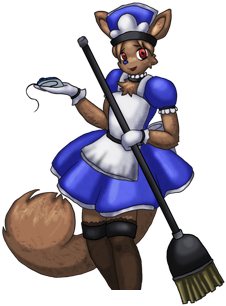fupoco maid clean up
