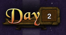 graphical polish to show the day number